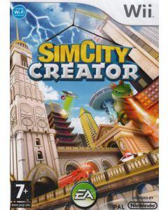 Jeu SimCity Creator pour WII