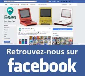 rejoignez Retro Game Place sur Faceboook